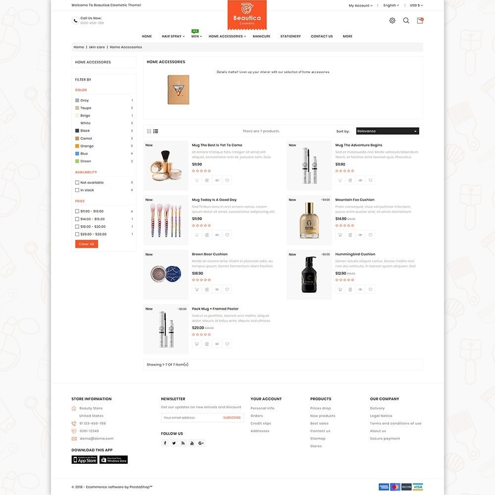 theme - Health & Beauty - Beautica - The Cosmetic Store - 4