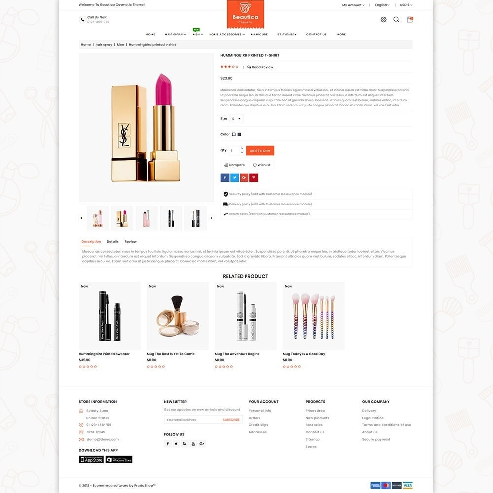 theme - Health & Beauty - Beautica - The Cosmetic Store - 5
