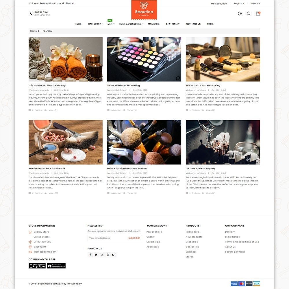 theme - Health & Beauty - Beautica - The Cosmetic Store - 6