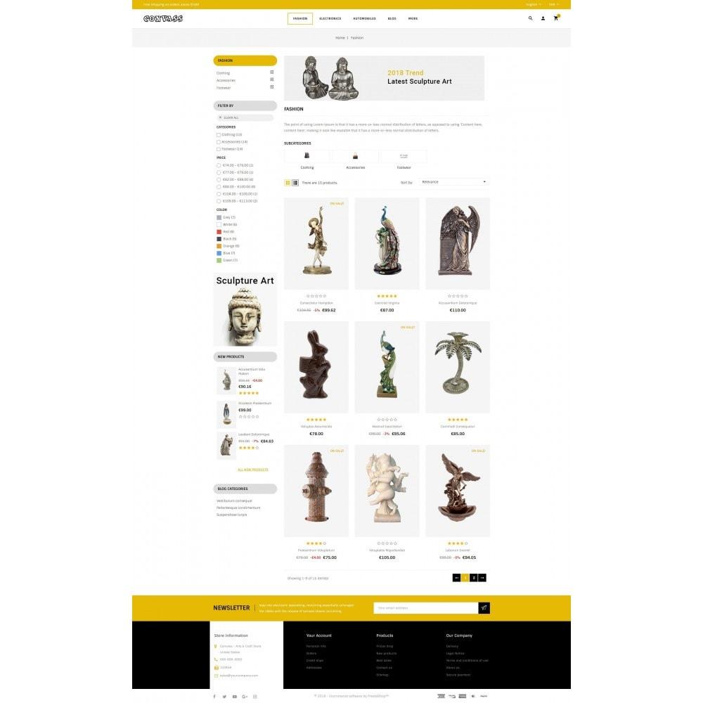 theme - Art & Culture - Convass - Art & Crafts Store - 3