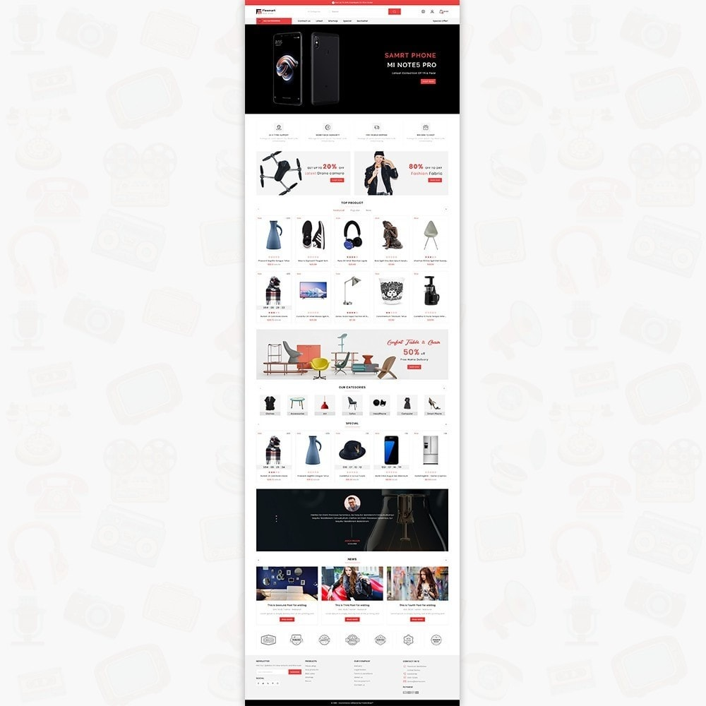 theme - Electronique & High Tech - FlowMart - The Multistore Template - 2