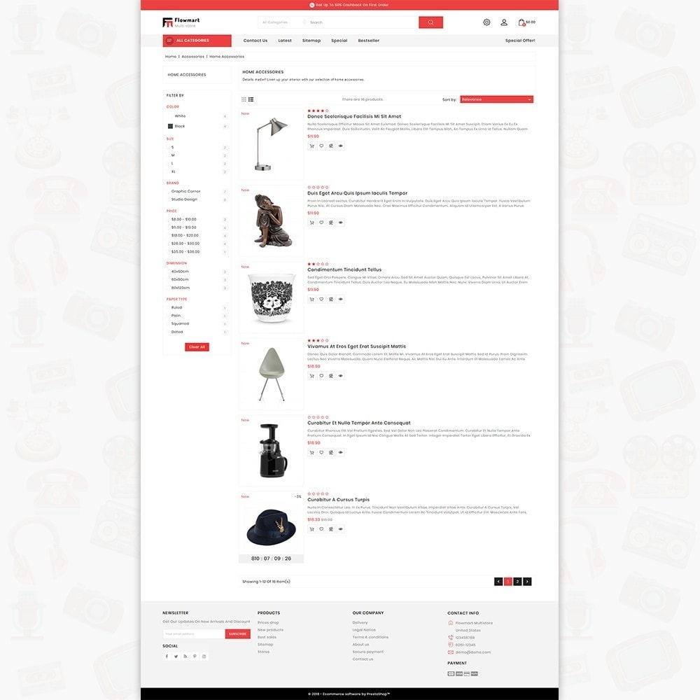 theme - Electronique & High Tech - FlowMart - The Multistore Template - 4