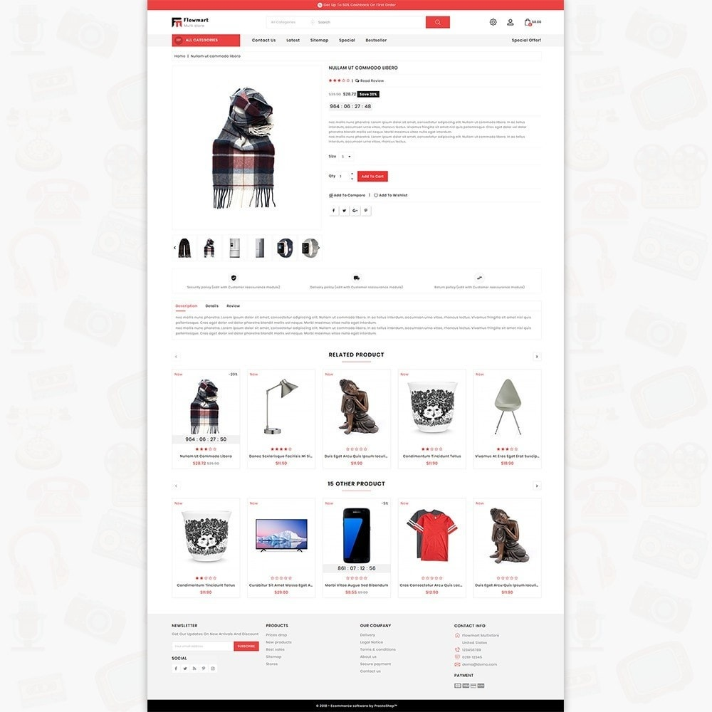 theme - Electronique & High Tech - FlowMart - The Multistore Template - 5