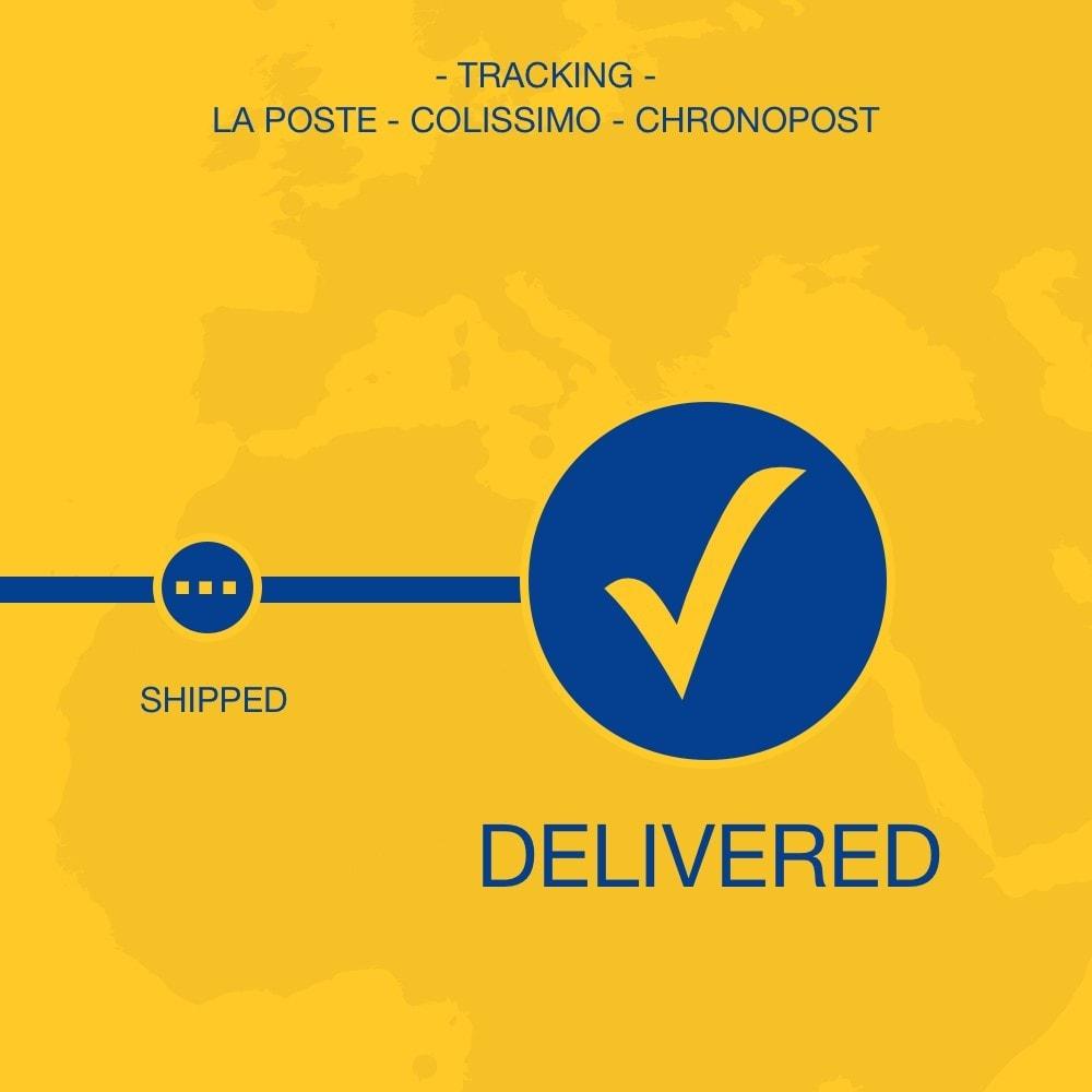 module - Sendungsverfolgung - La Poste, Colissimo & Chronopost tracking - 1