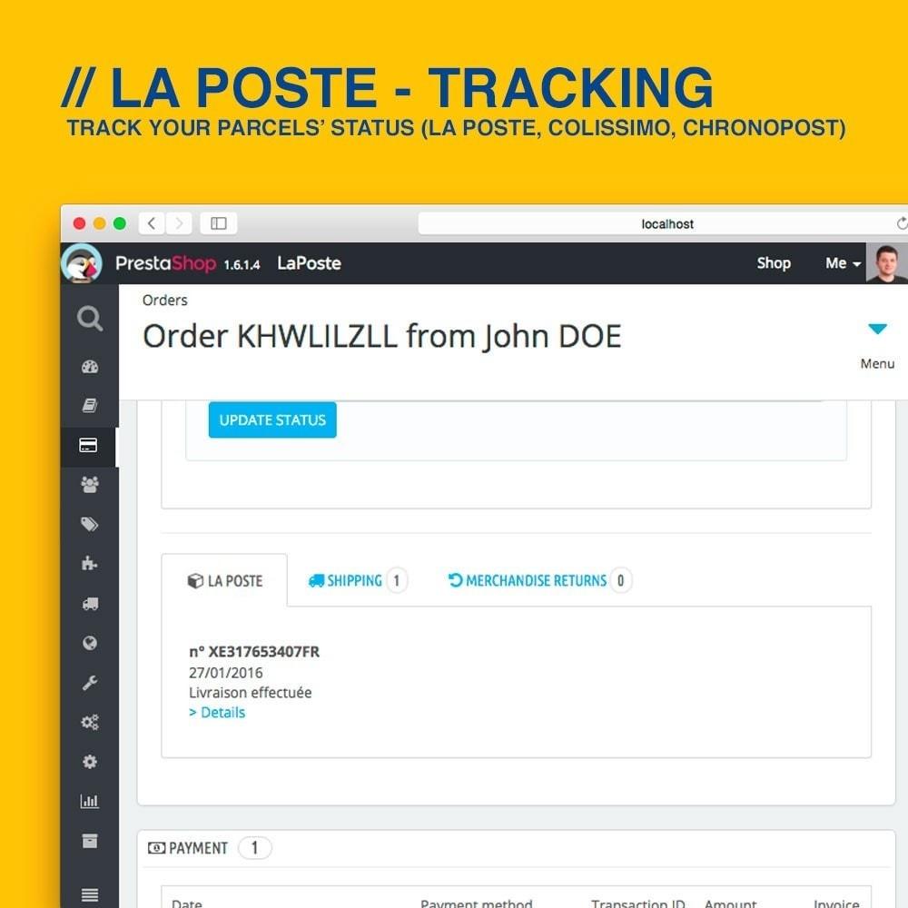 module - Seguimiento de la entrega - La Poste, Colissimo & Chronopost tracking - 3