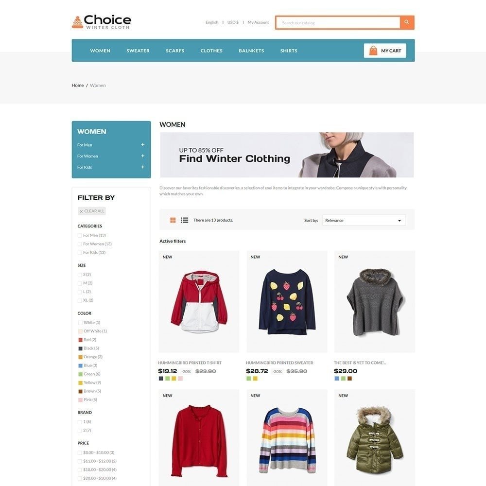 theme - Mode & Schuhe - Choice Fashion Store - 4