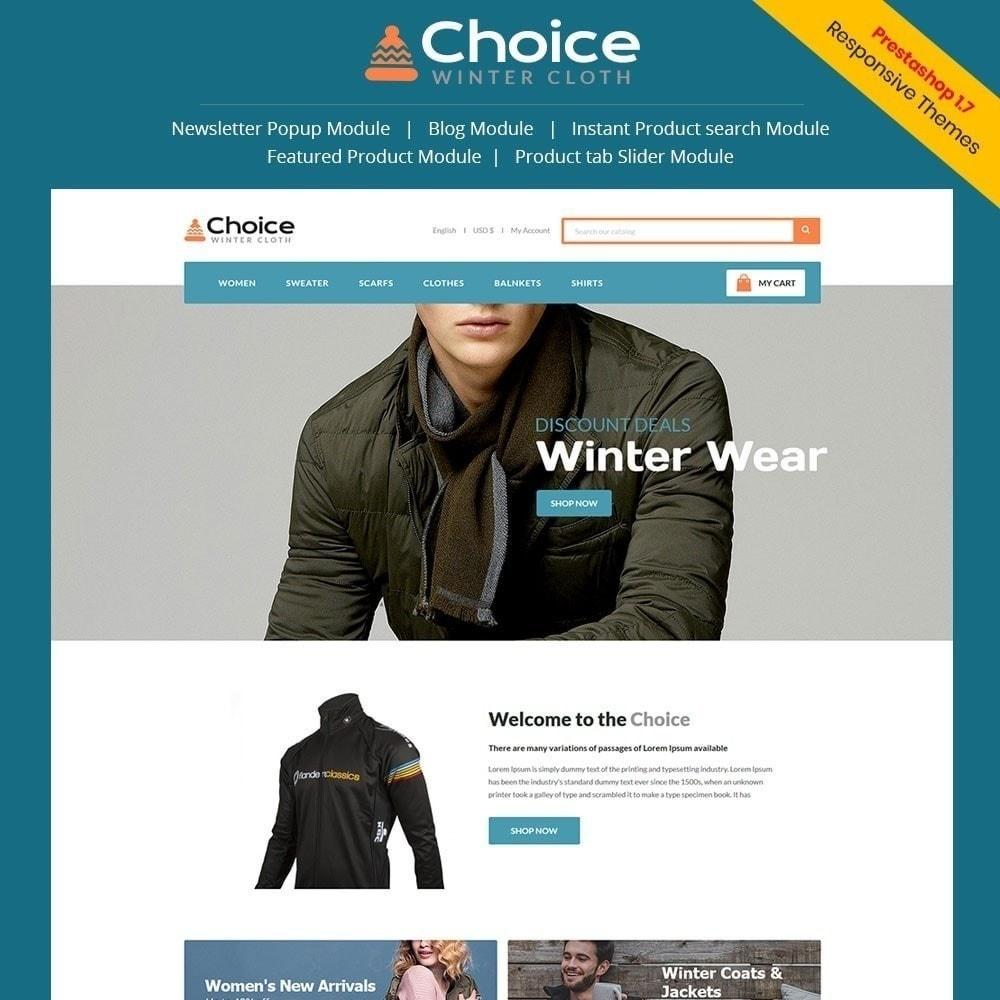 theme - Мода и обувь - Выбор магазина одежды - 1