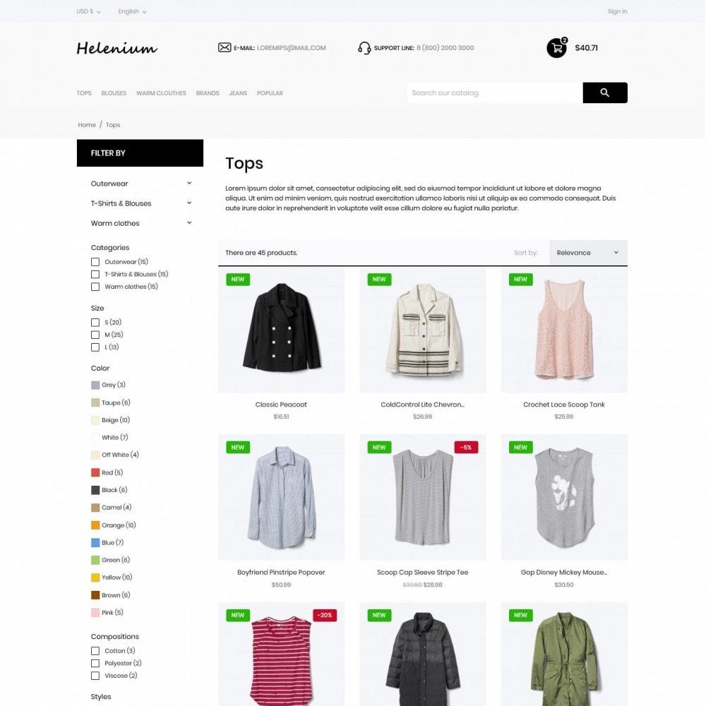 theme - Fashion & Shoes - Helenium Fashion Store - 5