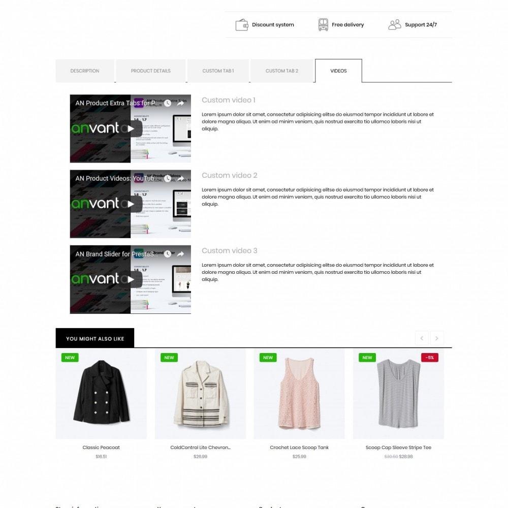 theme - Fashion & Shoes - Helenium Fashion Store - 9