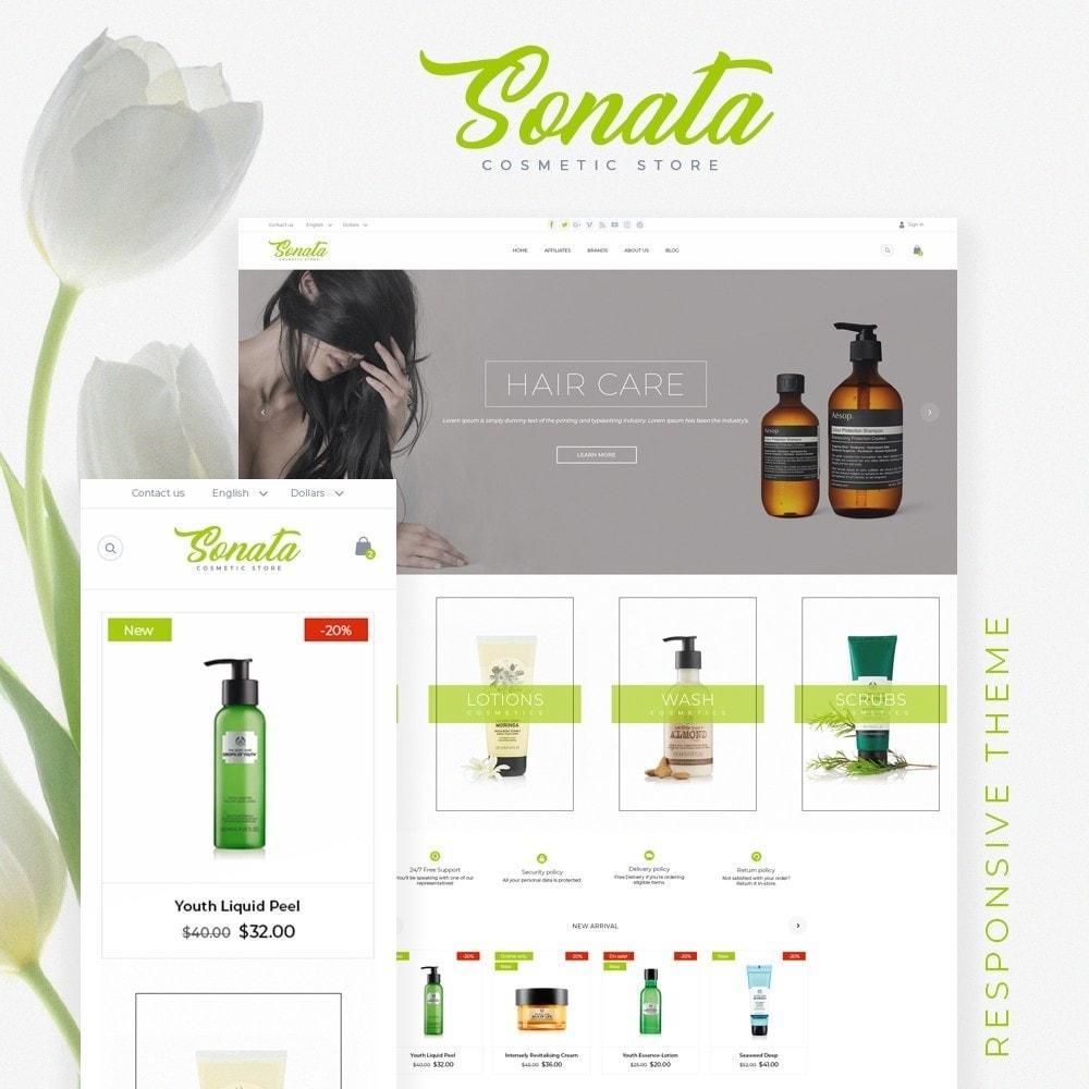 theme - Health & Beauty - Sonata Cosmetics - 1