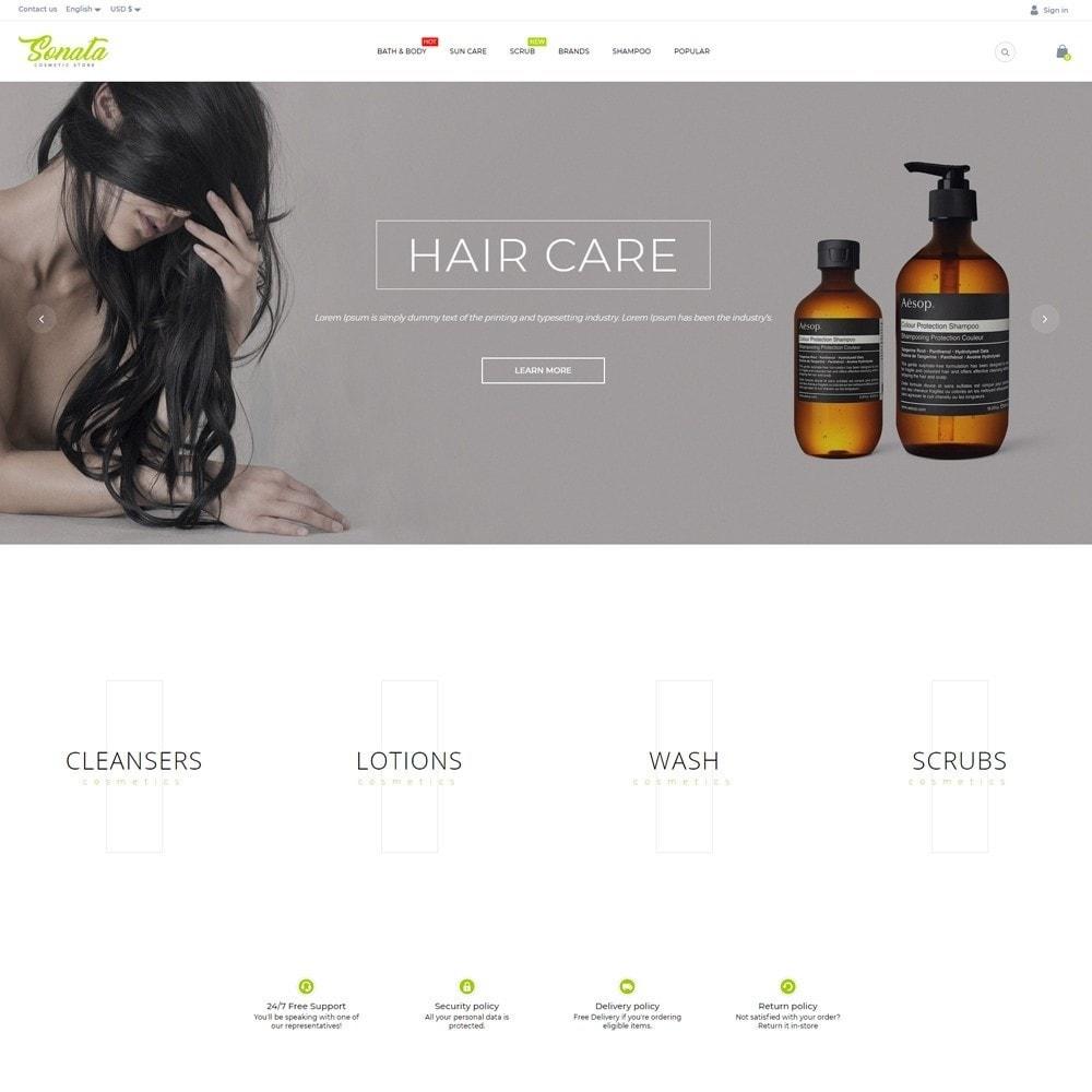 theme - Health & Beauty - Sonata Cosmetics - 2