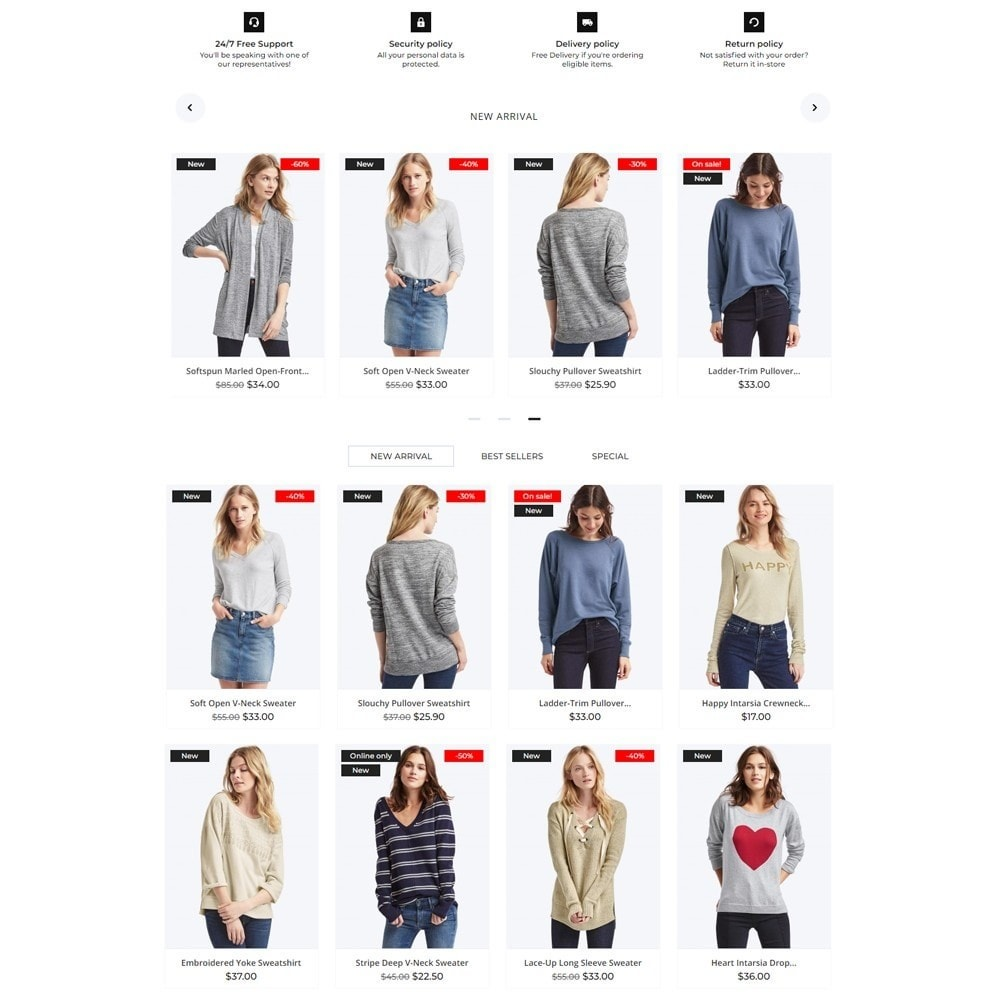 theme - Mode & Schoenen - Delta Fashion Store - 3