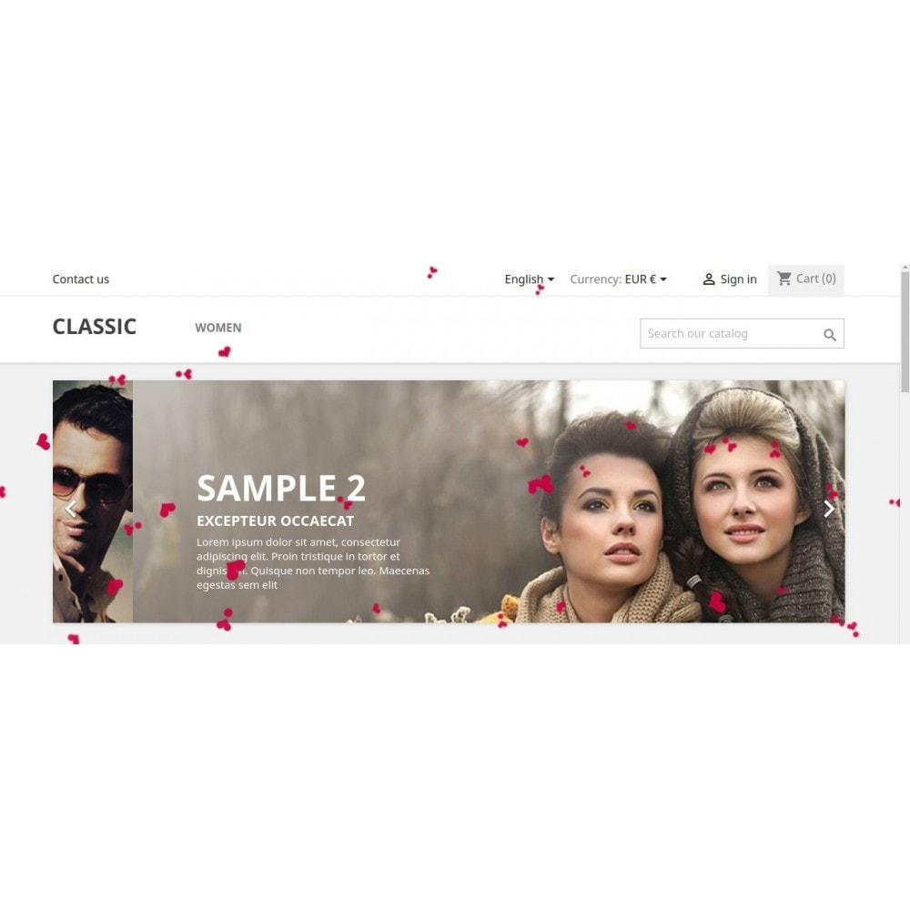 module - Personalización de la página - Knowband - Website Decoration Effects - 3