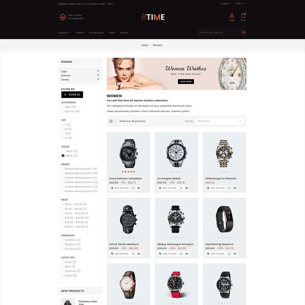 theme - Schmuck & Accesoires - Time Watch Shop - 3