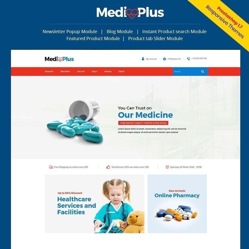 theme - Santé & Beauté - Médical - Pharmacie - 1
