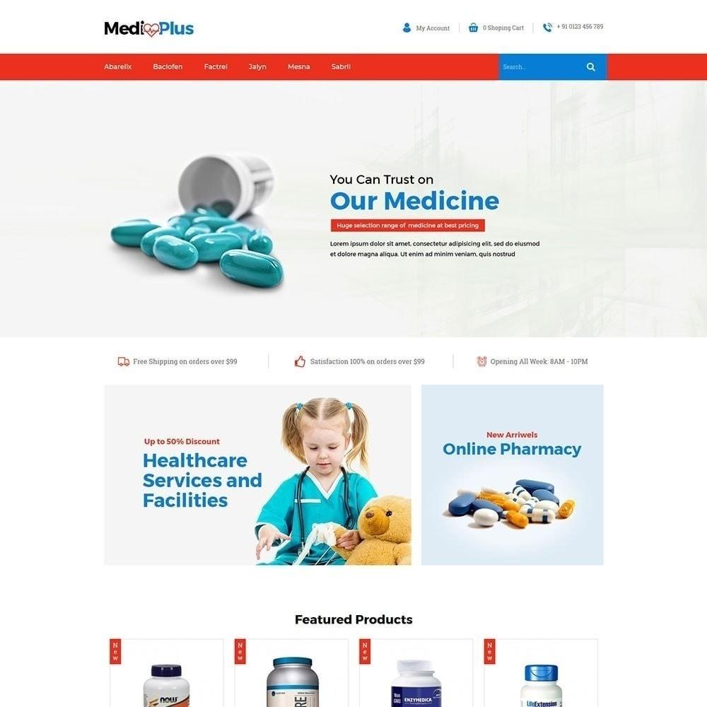theme - Santé & Beauté - Médical - Pharmacie - 3
