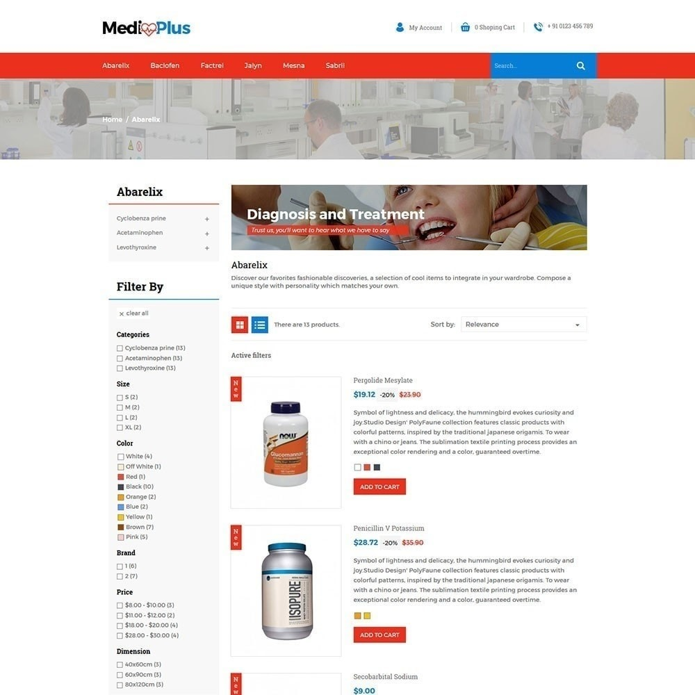 theme - Santé & Beauté - Médical - Pharmacie - 4