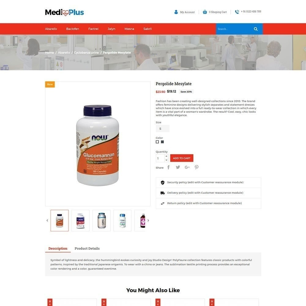 theme - Zdrowie & Uroda - Medical - Drug Store - 5