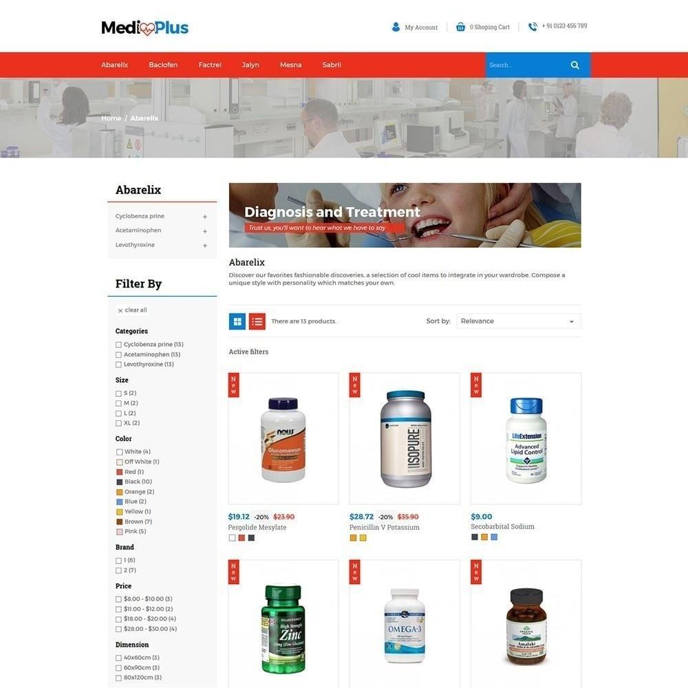 theme - Saúde & Beleza - Médico - Farmácia - 2