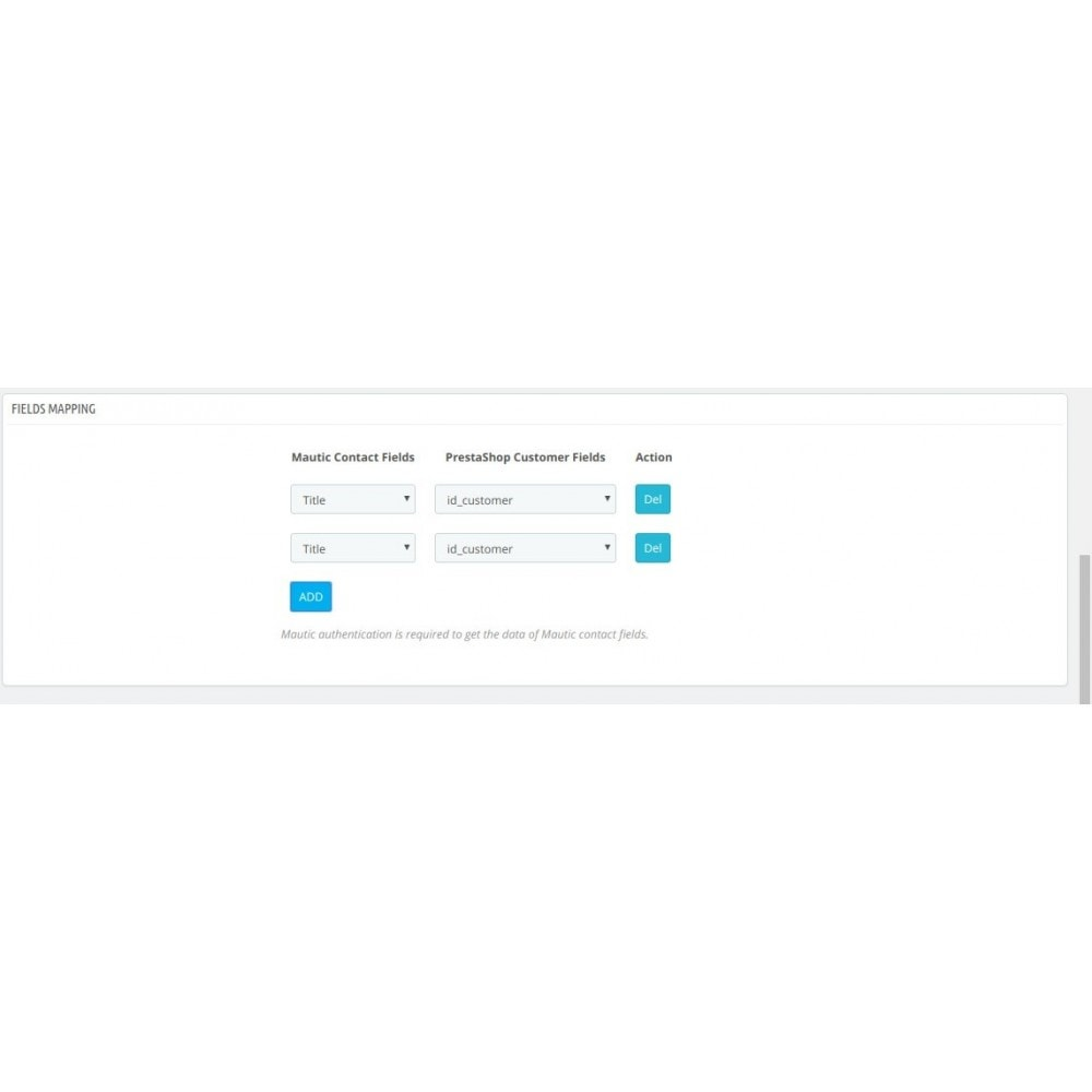 module - Notifications & Automatic Emails - CedCommerce Mautic Integration - 5