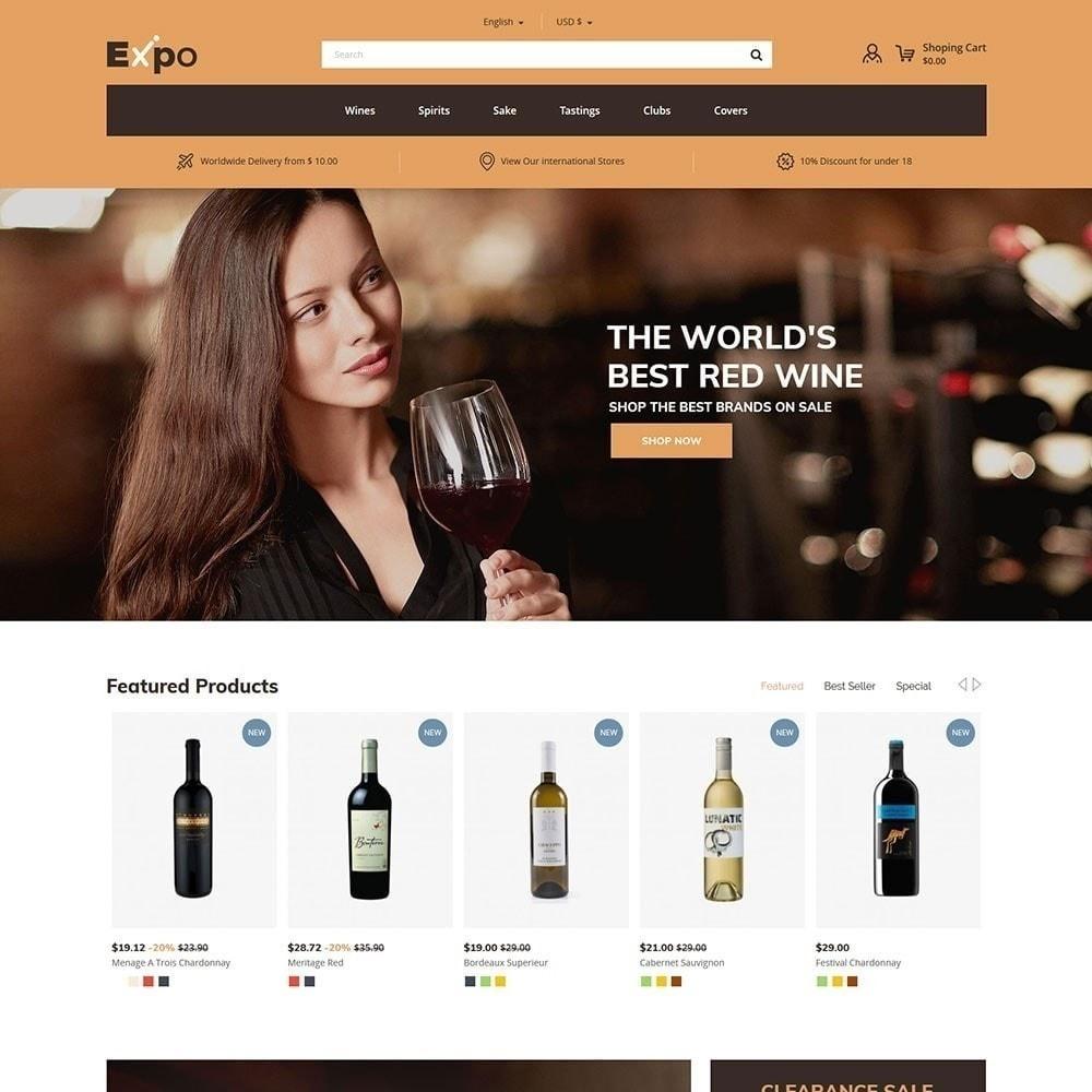 theme - Getränke & Tabak - Expo - Weinhandlung - 3