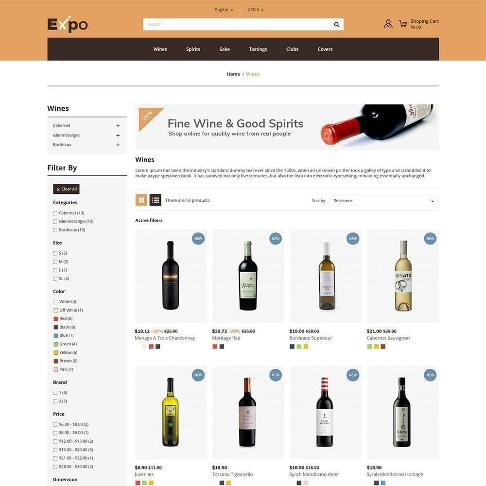 theme - Getränke & Tabak - Expo - Weinhandlung - 4