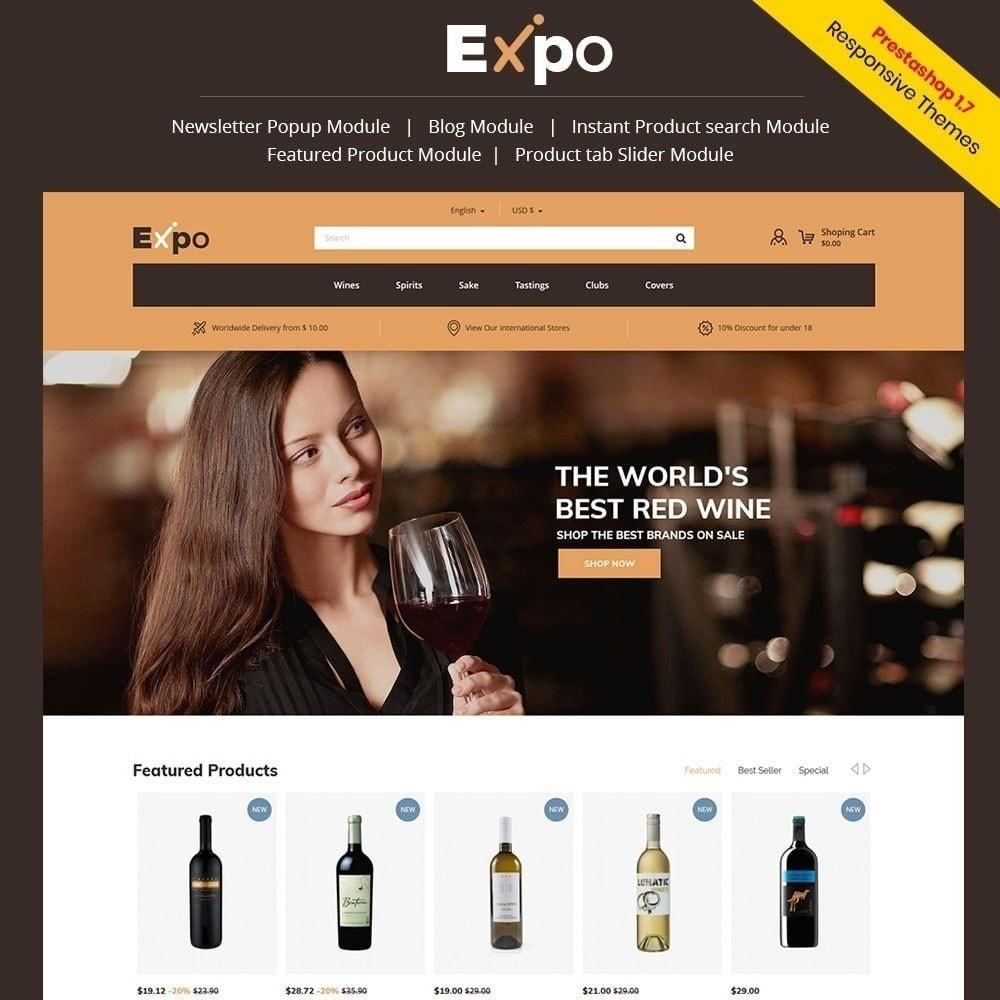 theme - Bebidas & Tabaco - Expo - Loja de Vinhos - 2