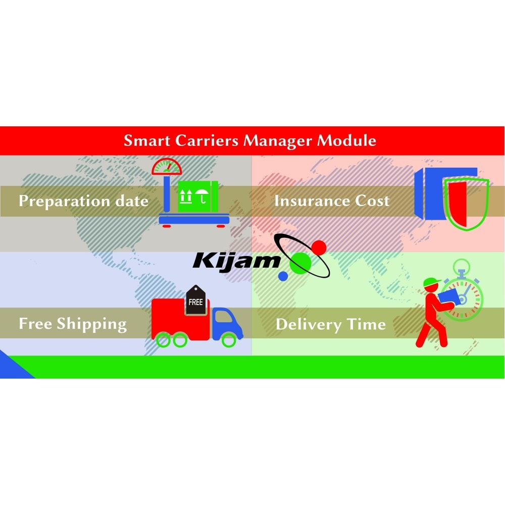 module - Shipping Carriers - Smart Carriers Manager - 1