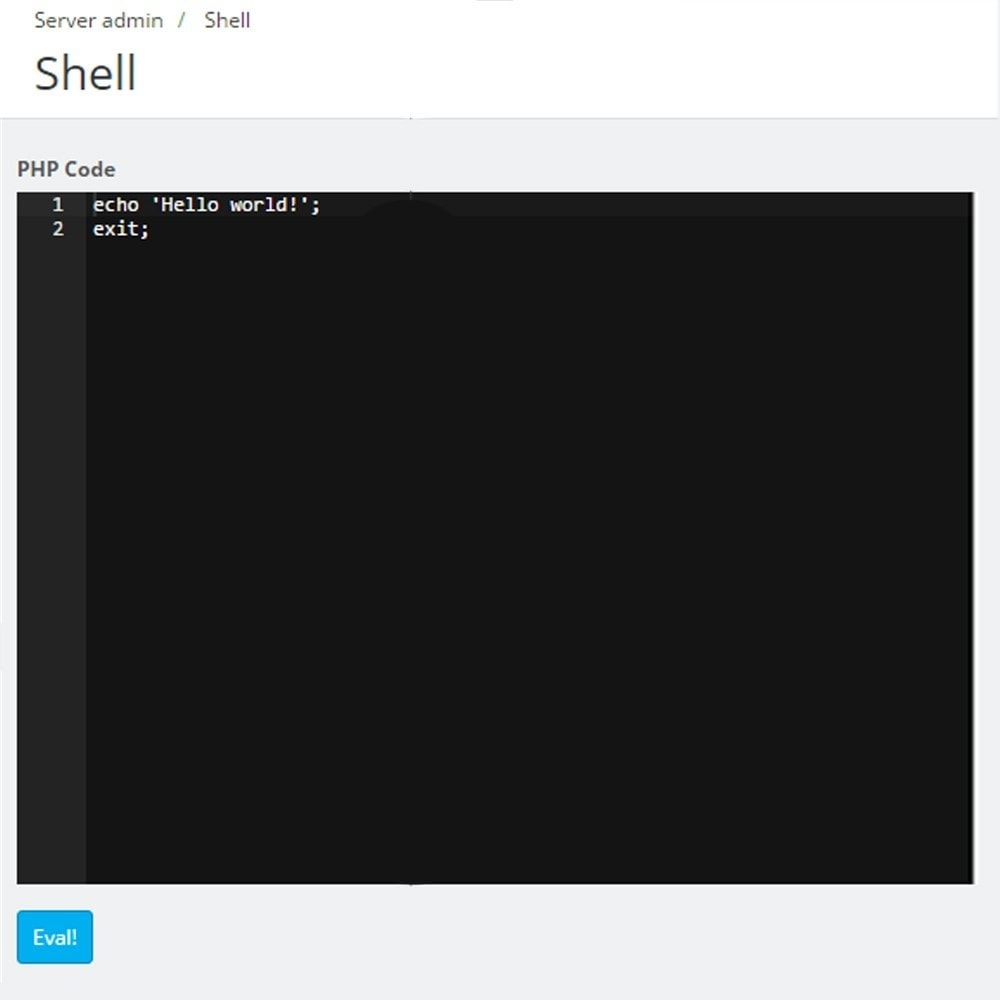 module - Инструменты администрирования - FTP редактор в админ панели - 9