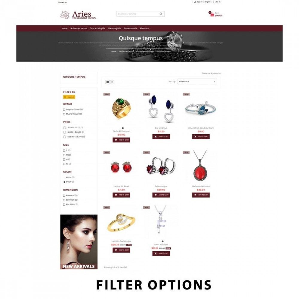theme - Joalheria & Acessórios - Aries - Jewelry premium - 11