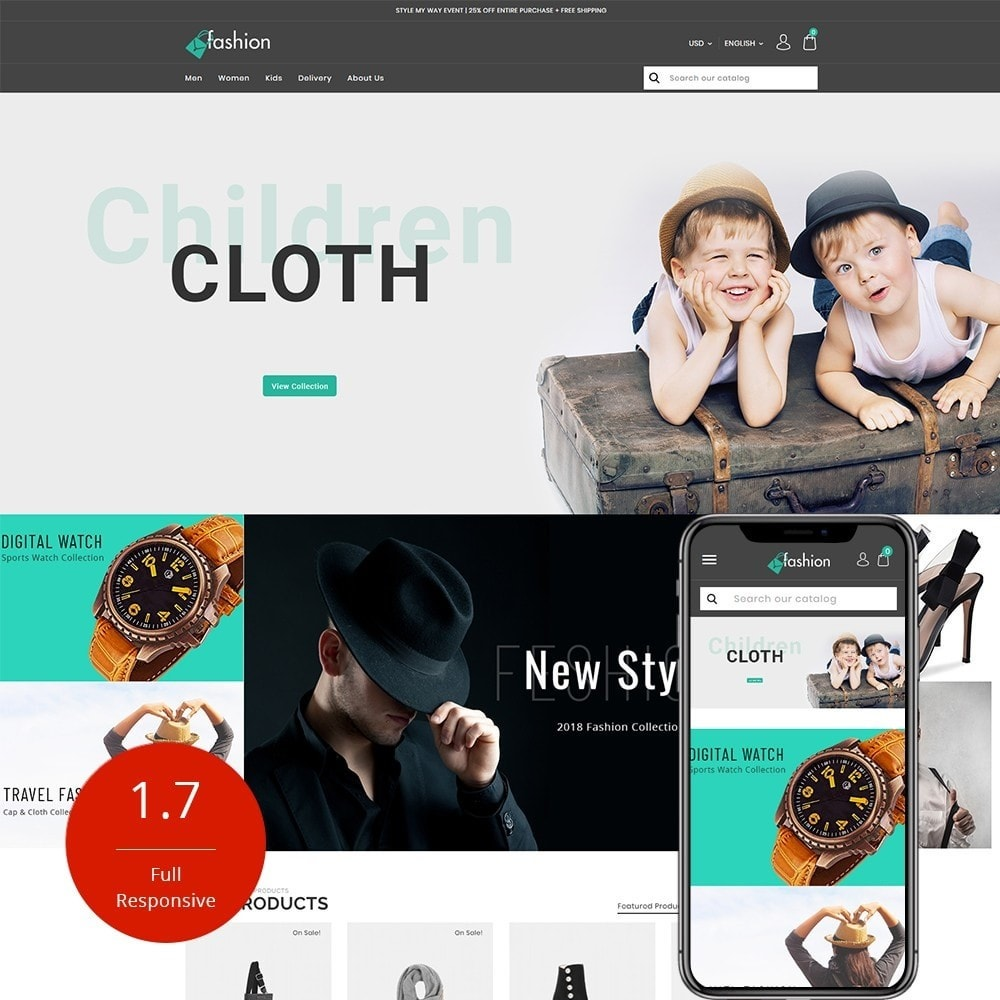 theme - Moda & Obuwie - Fashion Shop - 1