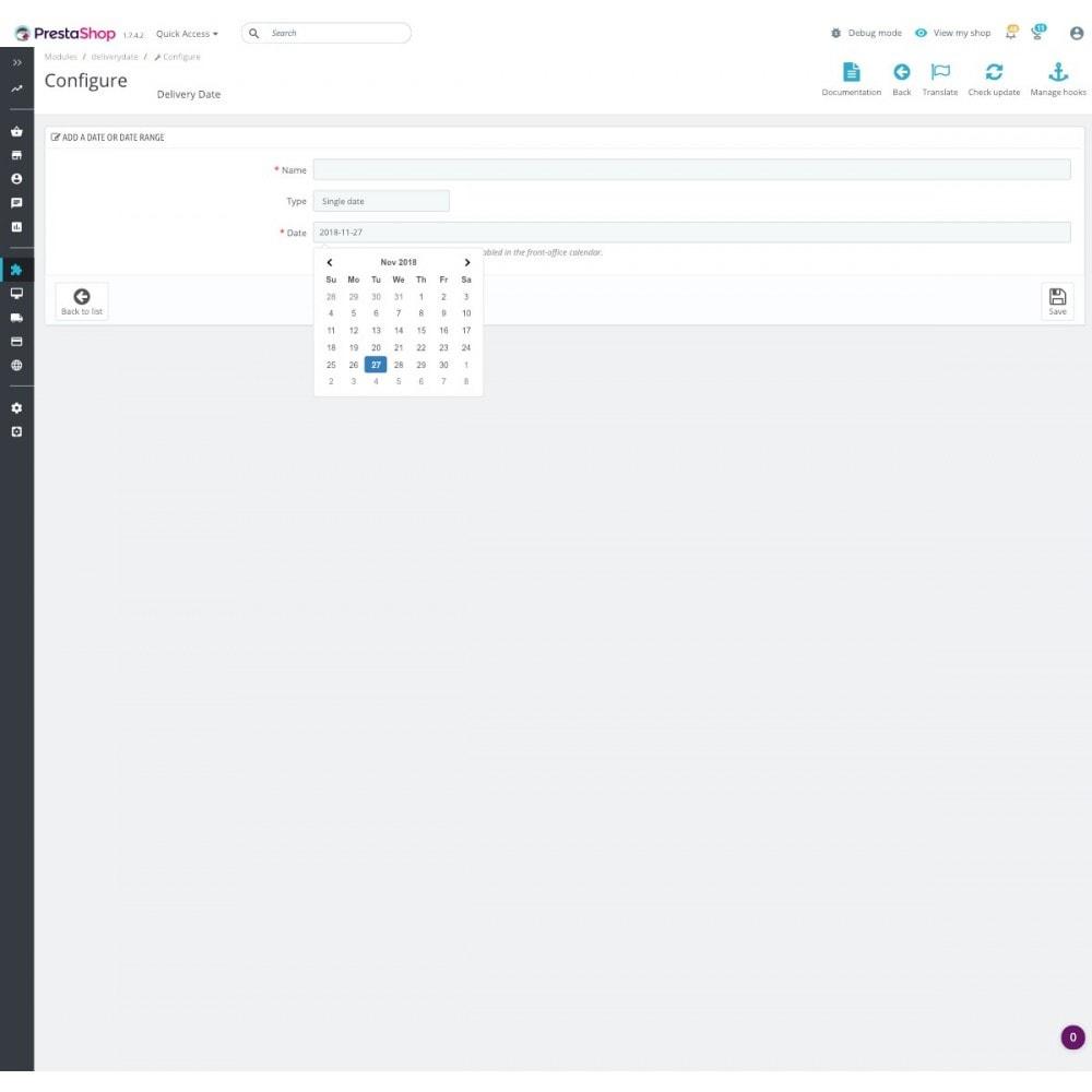 module - Пункты выдачи и Получение в магазине - Advanced Delivery Date Pro - 5