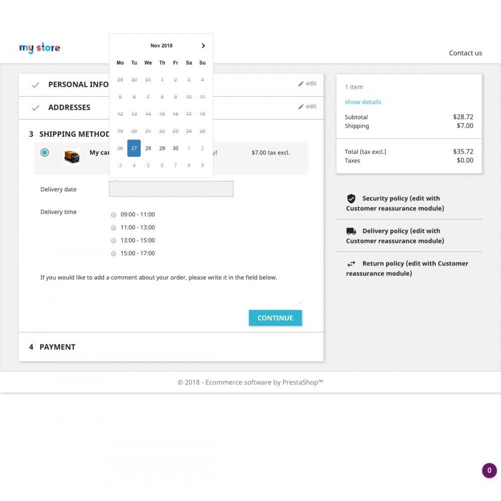 module - Пункты выдачи и Получение в магазине - Advanced Delivery Date Pro - 6