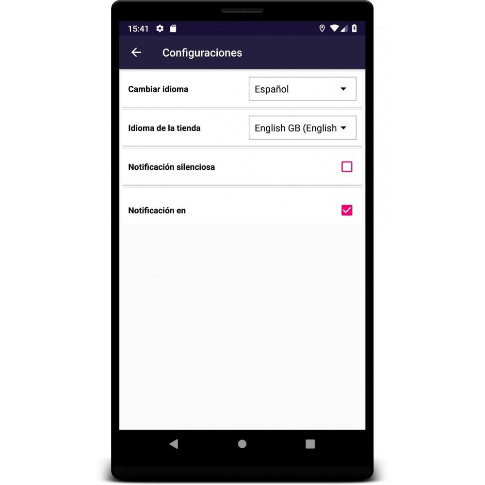 module - Dispositivos móviles - Admin Mobile App - 4