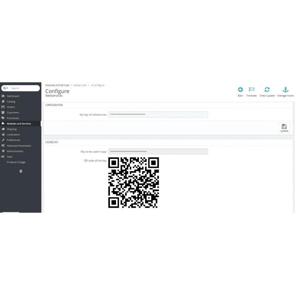 module - Dispositivos móviles - Admin Mobile App - 9