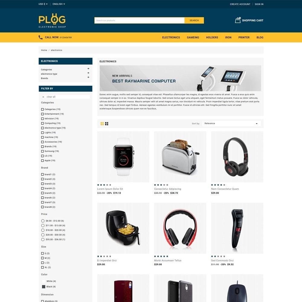 theme - Electronics & Computers - Plog Electronics Shop - 3