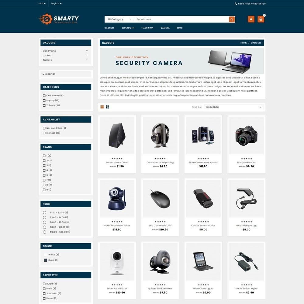 theme - Electronics & Computers - Smarty Electronics Shop - 3