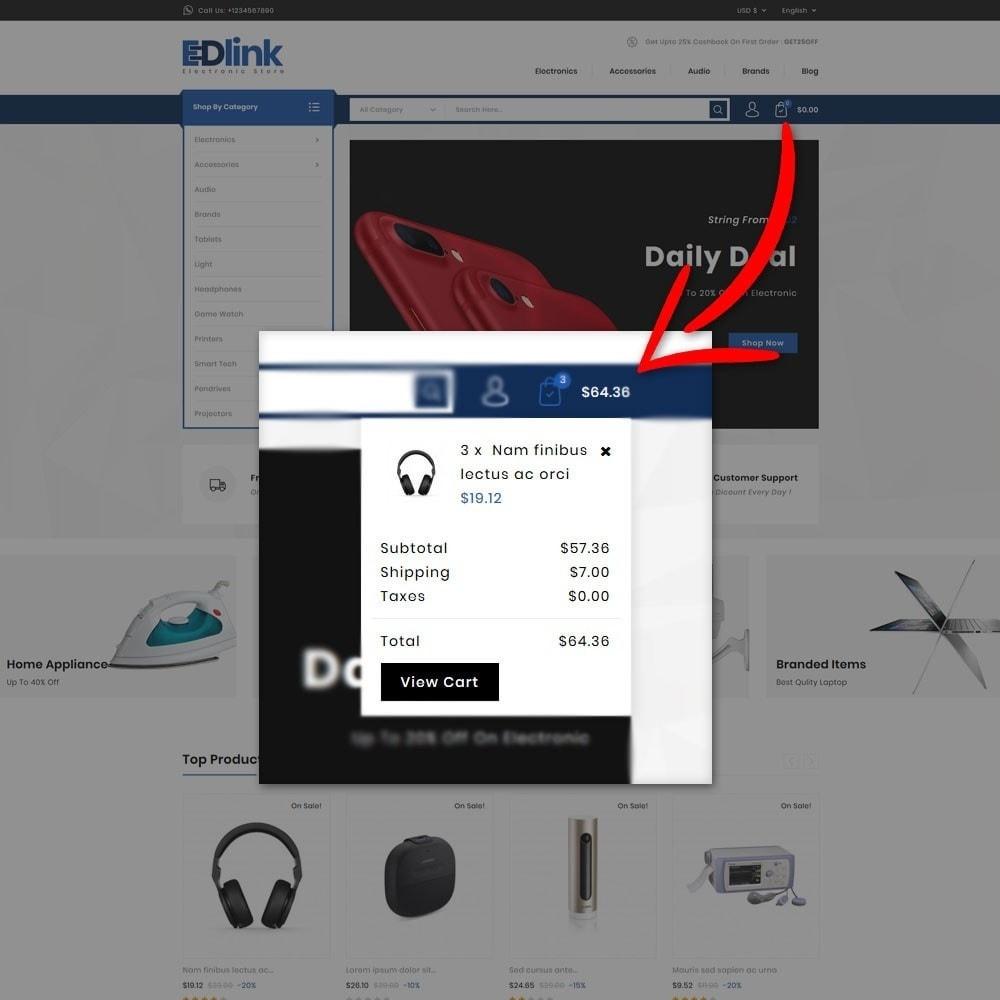 theme - Elektronica & High Tech - Edlink Electronic Store - 7