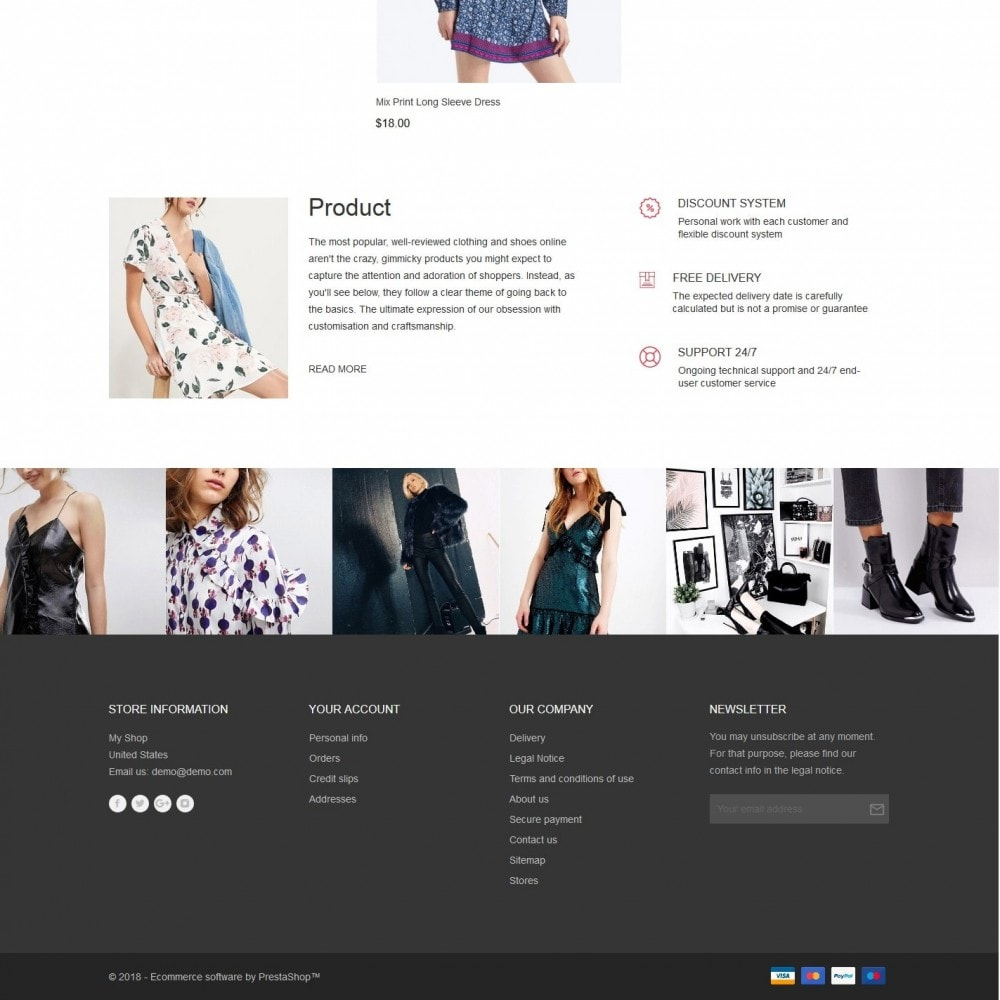 theme - Fashion & Shoes - Eridan Fashion Store - 4
