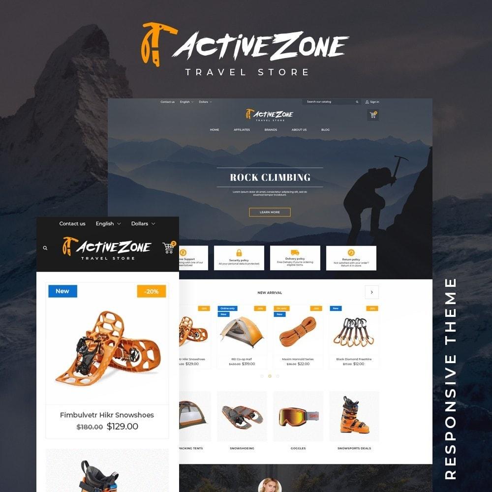 theme - Sports, Activities & Travel - Active Zone - 1
