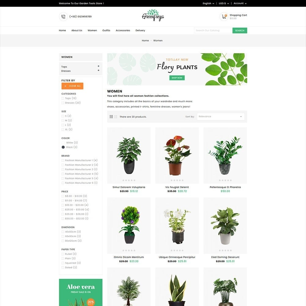 theme - Home & Garden - Greenfreys Garden Store - 4