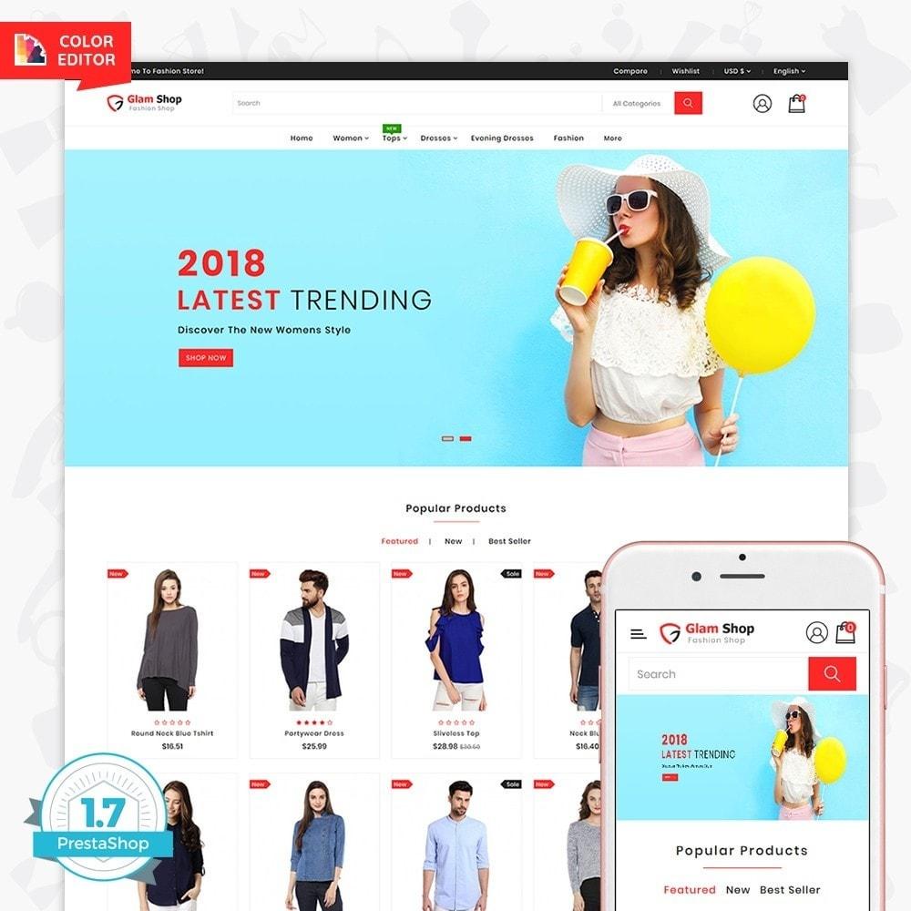 theme - Fashion & Shoes - GlamShop - The Fashion Shop - 1