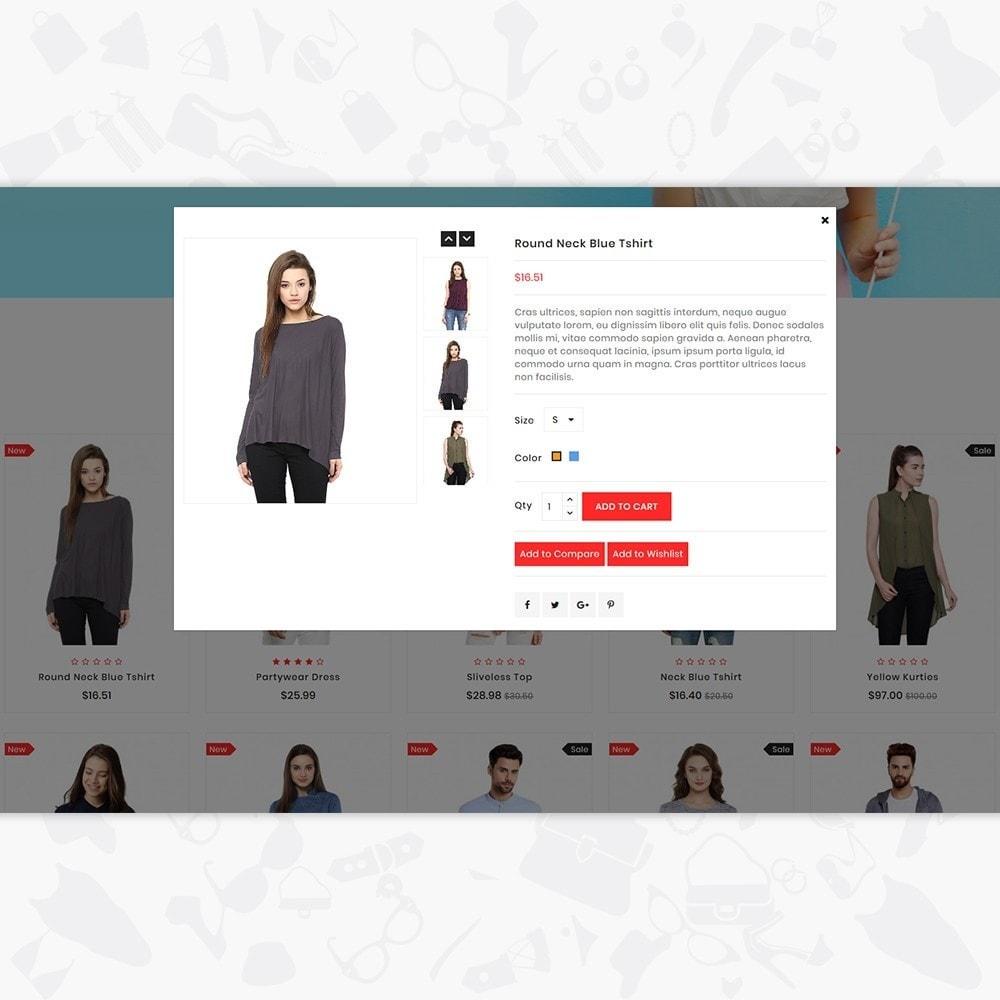 theme - Fashion & Shoes - GlamShop - The Fashion Shop - 7