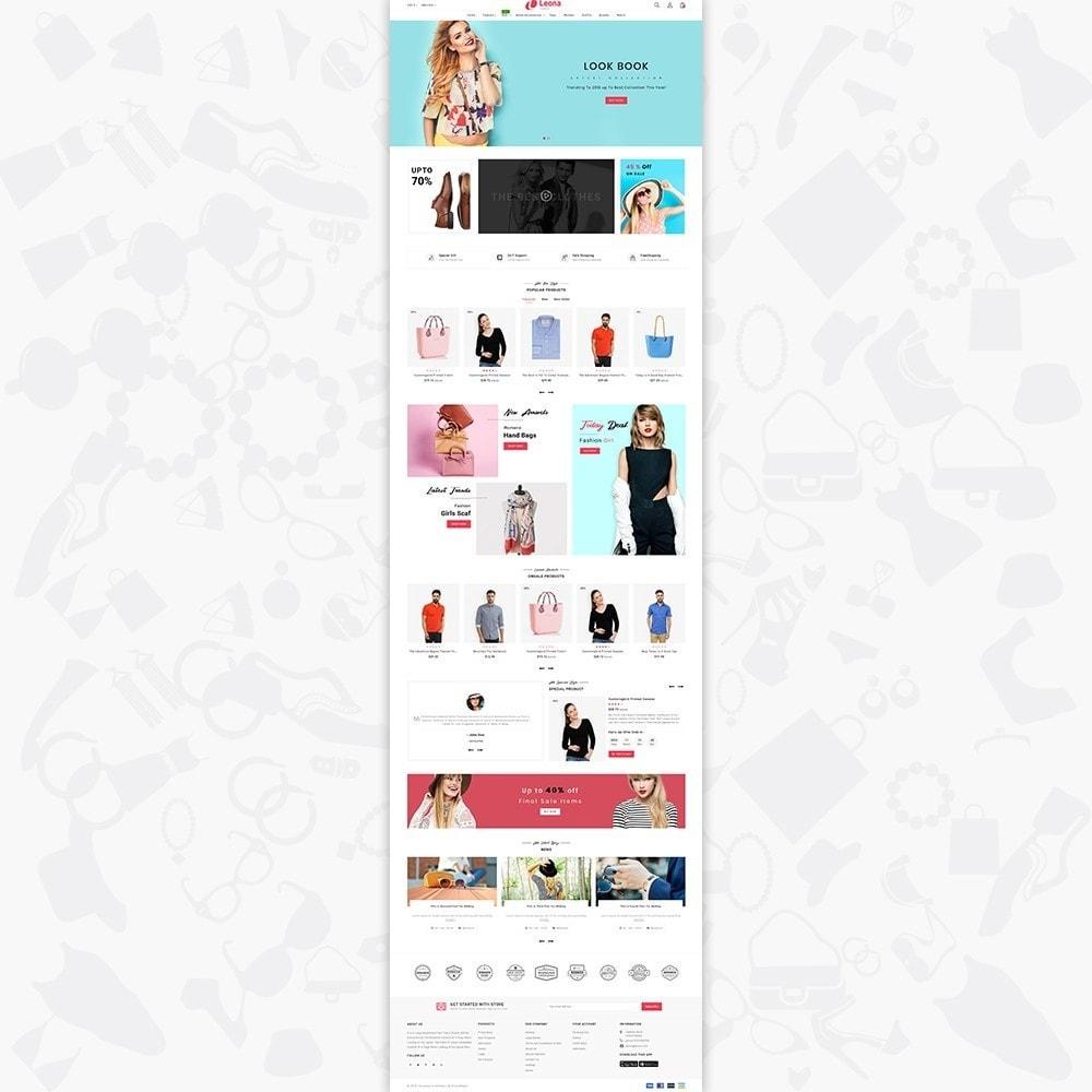 theme - Fashion & Shoes - Leona - The Fashion Store - 2