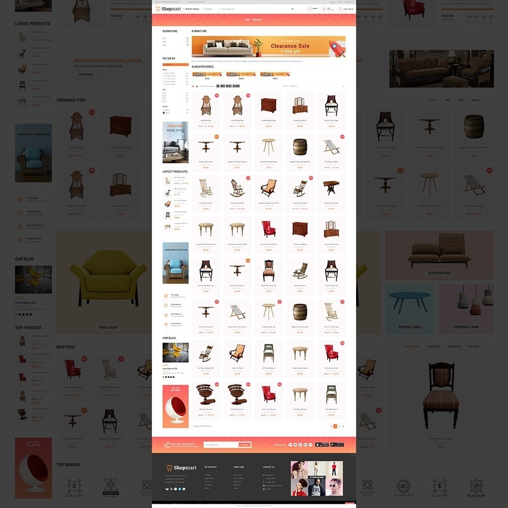 theme - Heim & Garten - Shopmart - multipurpose furniture store template - 3