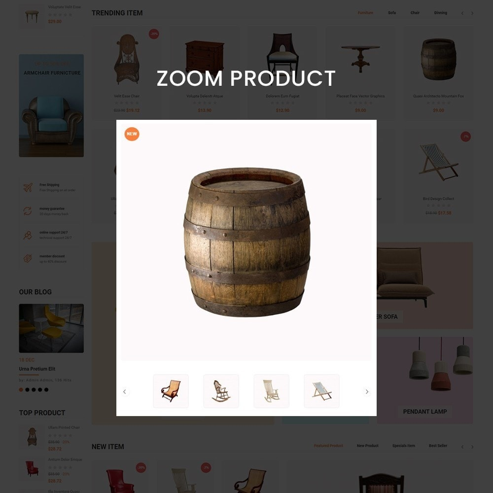 theme - Heim & Garten - Shopmart - multipurpose furniture store template - 11