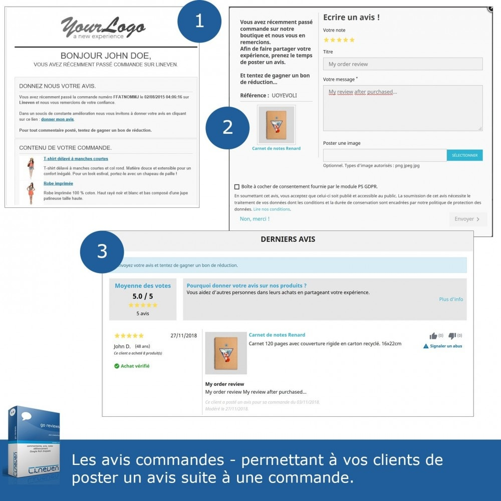 module - Avis clients - Commentaires, avis, notes, SEO et Google Rich Snippets - 6