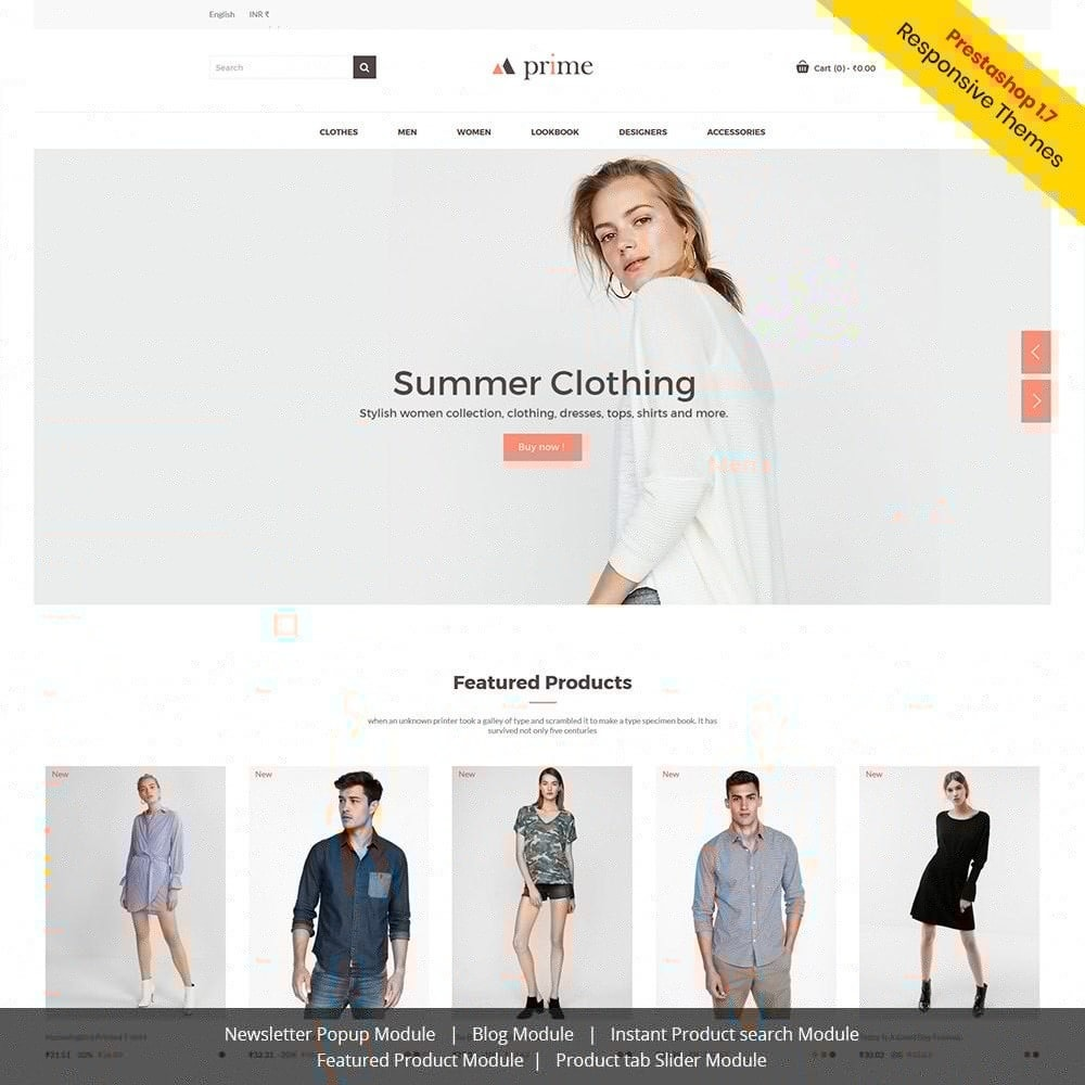 theme - Fashion & Shoes - Prime - Fashion Store - 1