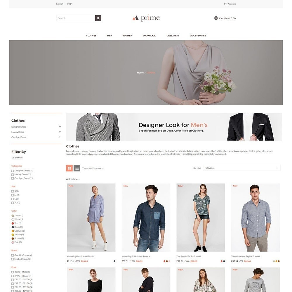 theme - Fashion & Shoes - Prime - Fashion Store - 4