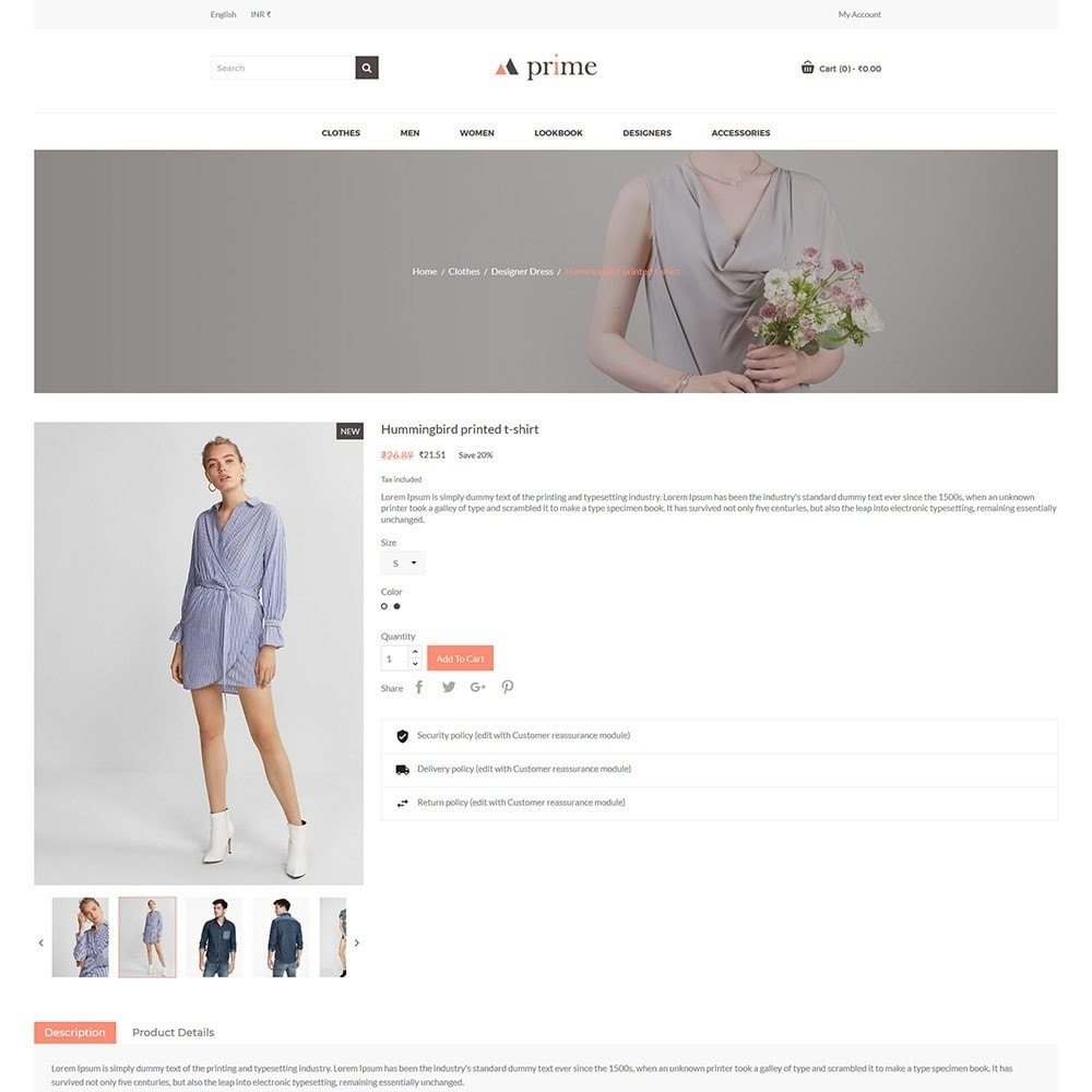 theme - Fashion & Shoes - Prime - Fashion Store - 6